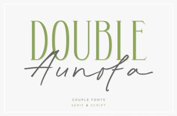 Aunofa Serif Font Free