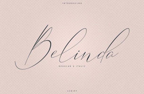 Belinda Script Font Free