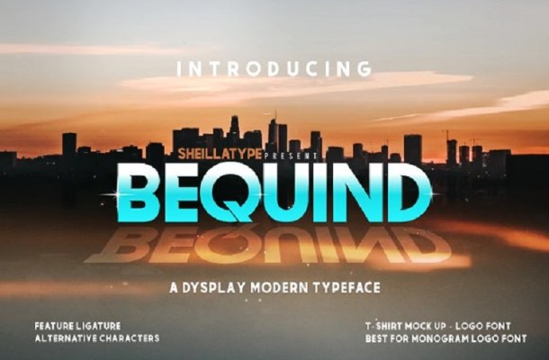 BEQUIND MODERN FONT Free