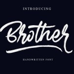 Brother Brush Font Free