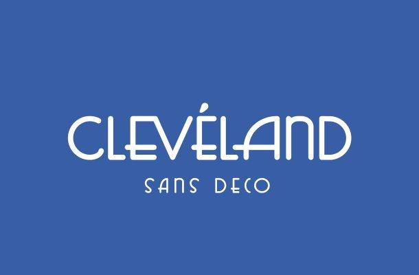 Cleveland Sans Deco Font Free