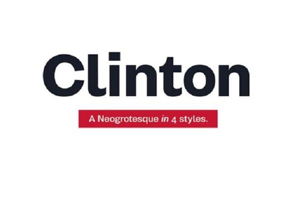 Clinton Font Family Free