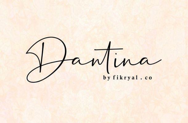 Dantina Handwritten Font Free