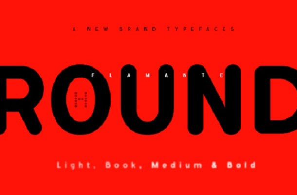 Flamante Round Font Free