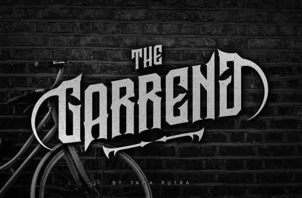 Garreng Typeface Free