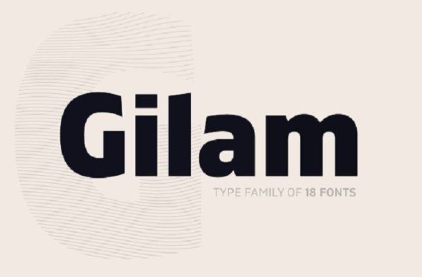 Gilam Font Family Free