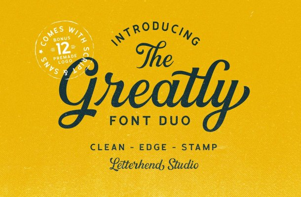 Greatly Script Font Free