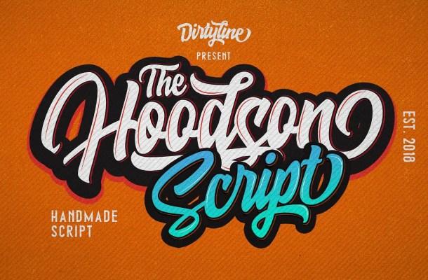 Hoodson Script Font Free