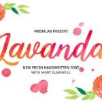 Lavanda Script Font Free