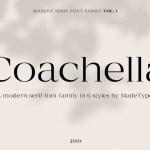 Made Coachella Font Family Free