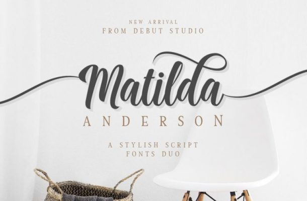 Matilda Anderson Font Duo Free