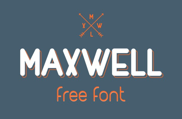 MAXWELL Font Family Free