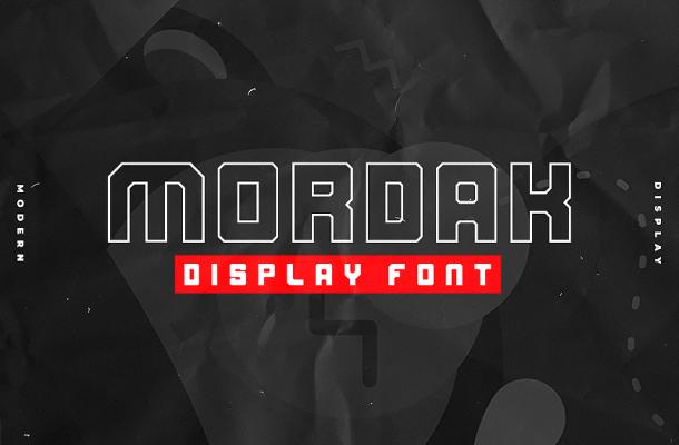 Mordak Typeface Free
