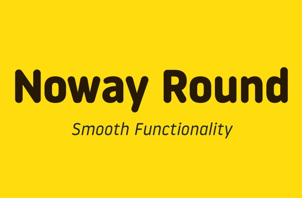 Noway Round Font Family Free