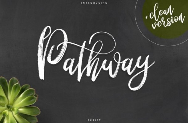 Pathway Script Font Free
