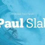 Paul Slab Font Family Free