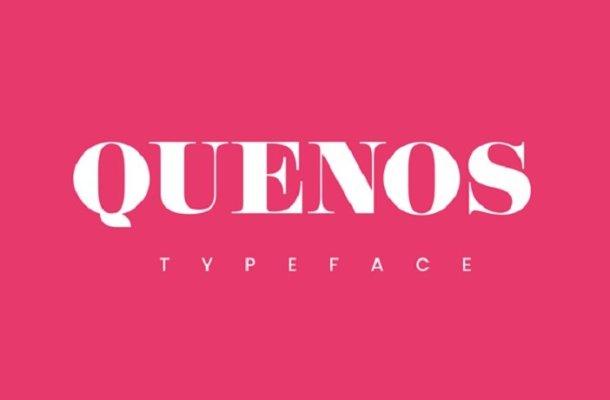 Quenos Typeface Free