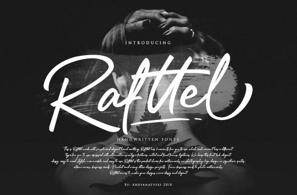 Rafttel Script Font Free