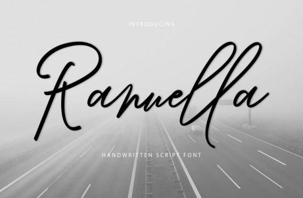 Ranuella Script Font Free