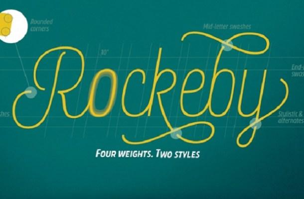 Rockeby Font Family Free