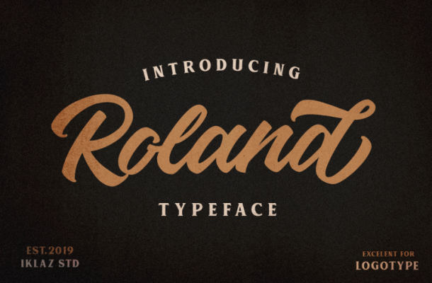 Roland Typeface Free