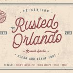 Rusted Orlando Font Family Free