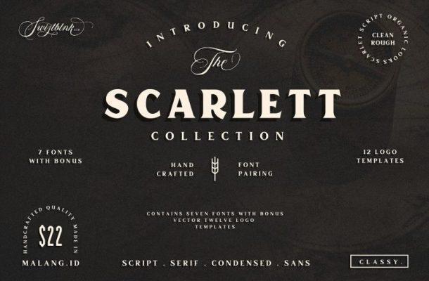 Scarlett Typeface Free