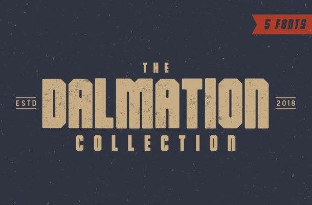 The Dalmation Typeface Free