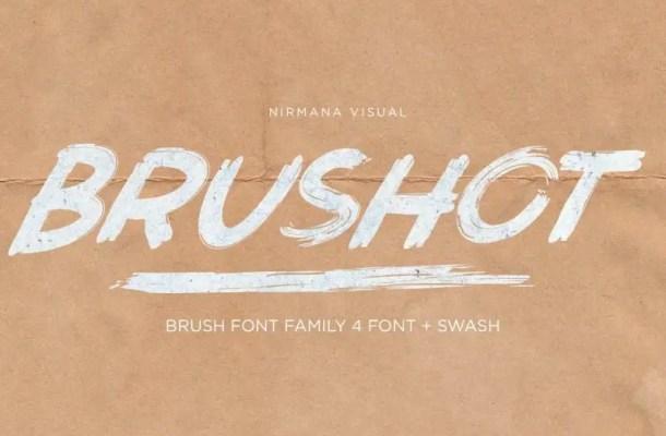 Brushot Brush Font Free