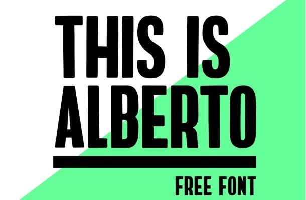 ALBERTO FONT Free