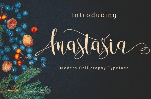 Anastasia Script Font Free