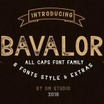 Bavalor Typeface Free