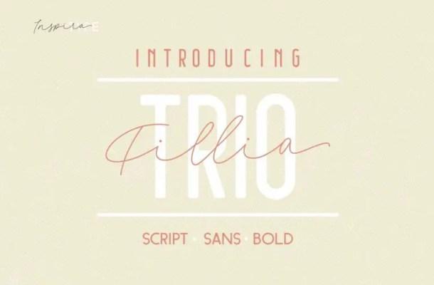 Filia Font Trio Free