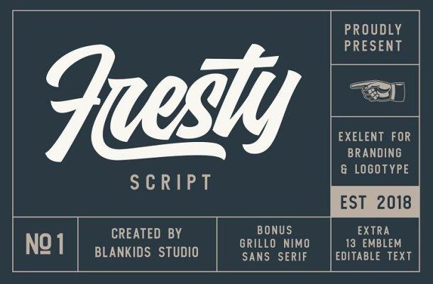 Fresty Script Font Free