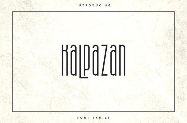 Kalpazan Font Family Free