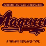 Maqueen Display Font Free