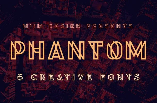 Phantom Display Font Free