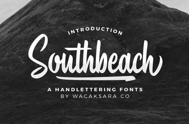 Southbeach Script Font Free