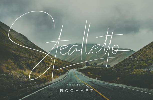 Stealletto Signature Font Free