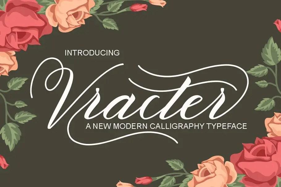 vracter-script-font