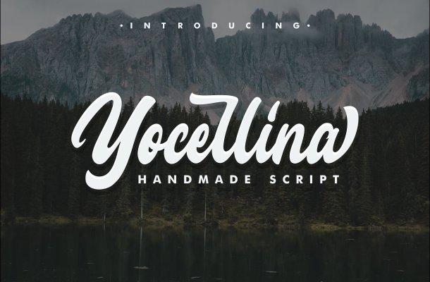 Yocellina Script Font Free