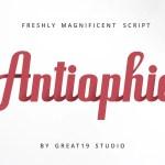 Antiophie Script Font Free