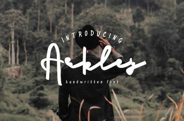 Arkley Script Font Free