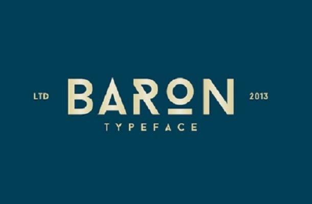 Baron Neue Typefamily Free