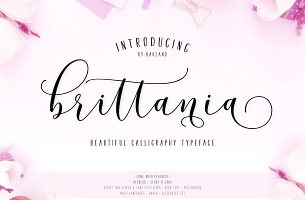 Brittania Script Font Free