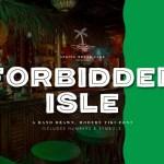 Forbidden Isle Tiki Font Free