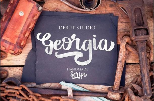 Georgia Script Font Free