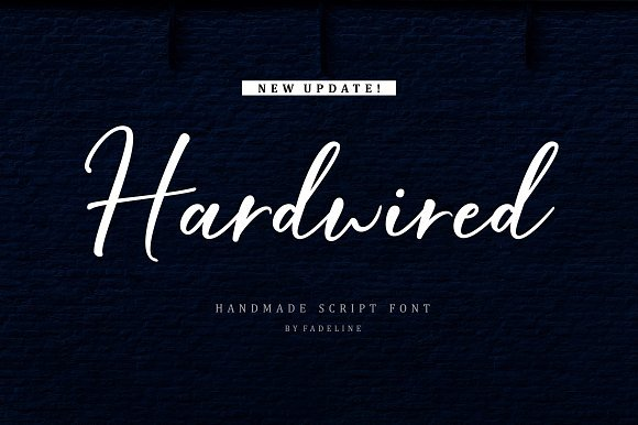 Hardwired Script Font Free