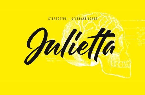 Julietta Script Font Free