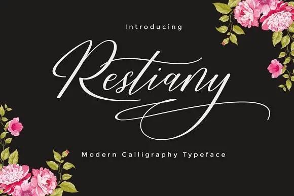 Restiany Script Font Free